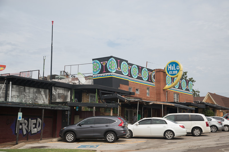 The Hilo Club located at 1221 NW 50th St in Oklahoma City. The land has been solf to Braum's resturaunts who has applied to rezone the property so they can build a new location.