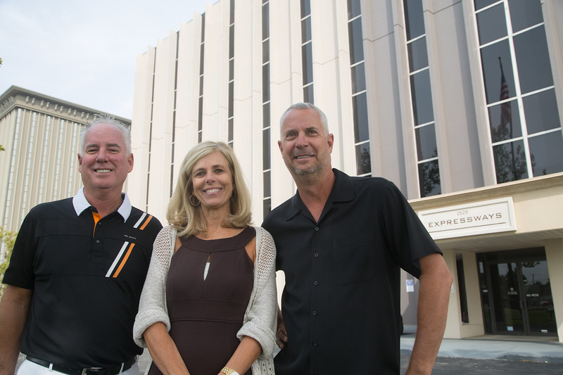 Ted Wheitnah, Donna Higginson and Kent Whitnah are the new owners of 2525 NW Expressway in Oklahoma City, OK.