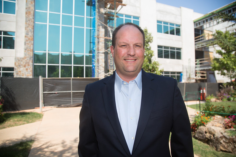 Chad Richison, founder and CEO of Paycom located at 7501 W Memorial Ave in Oklahoma City.