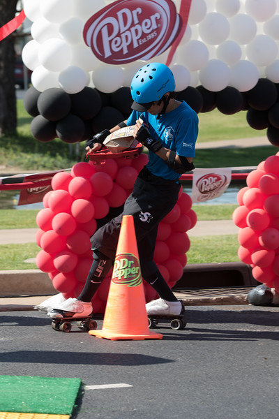 Sonic held it's annual skating carhop competition at it's headquarters in Oklahoma City, OK.