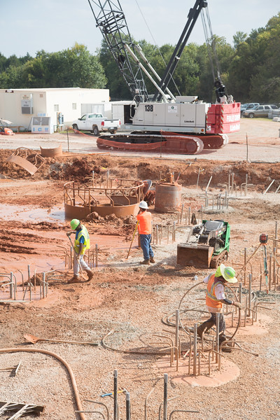 The City of Norman is expanding the water treatment plant located at 3000 E Robinson Street in Norman, OK. Part of the expansion is to reduce the unplesant tasting water that reoccurs every fall.