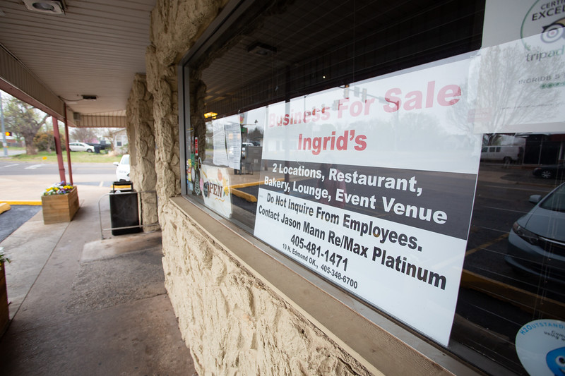 Ingrid's Kitchen in Oklahoma City has been put up for sale. The sale includes both the 2401 N Youngs Blvd. and 6501 N May location.