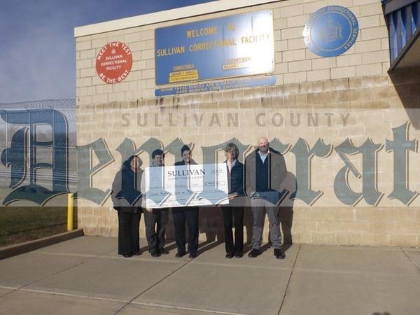 12 10 18 Sullivan Corrections Donation to St  Anthony