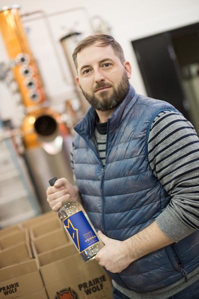 Drew Tekell has purchased Prairie Wolf Vodka in Gurhrie, OK with partners Johnathon Stranger and Steven Sands.