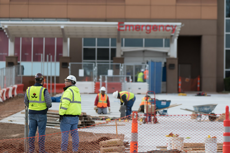 Construction of the hospital expansion has begun at OU Medical located at 700 NE 13th Street in Oklahoma City.