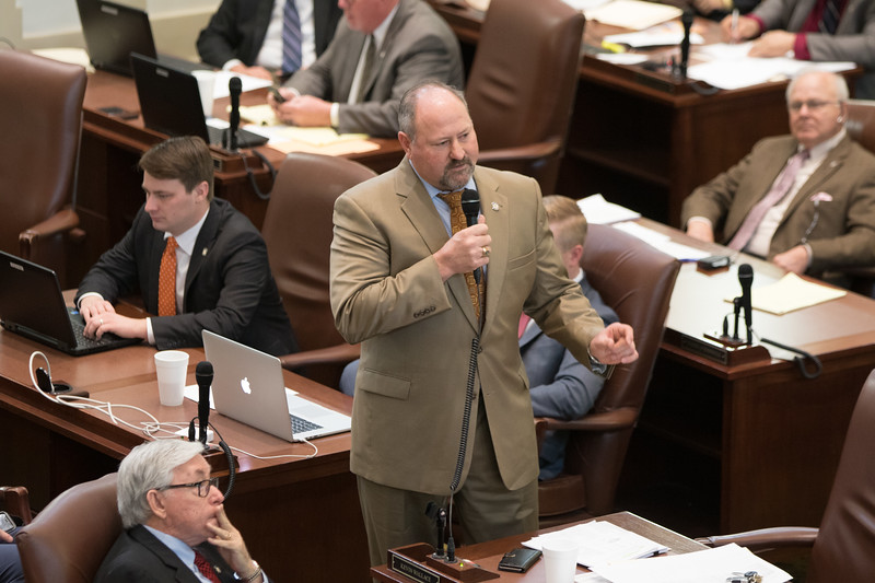 Rep Kevin Wallace introduced a bill in the Oklahoma House of Repersenitives that would balance the budget for the remaining fiscal year by making a two thirds of a percent cut accross the board.