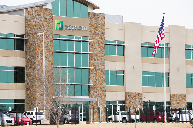 Paycom Software, Inc. located at 7500 W Memorial Rd in Oklahoma City, OK.