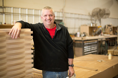 T.J. Wesnidge, owner of Wesnidge Furniture,  moved his company from Tuttle, OK to Chickasha, OK.