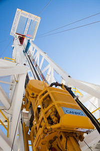 Unit Drilling Companies new BOSS #401 drilling rig.