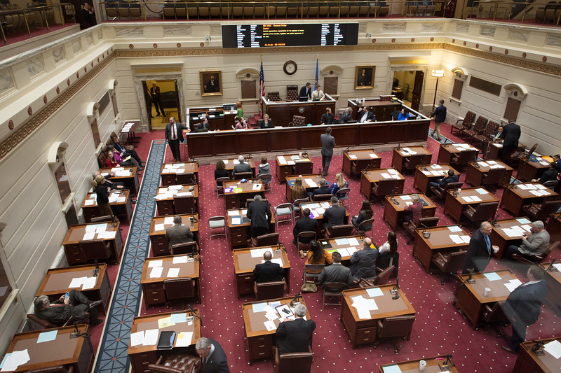 The Oklahoma State Senatemet in special session to vote on a plan to make cuts to balance the budget for the remainder of the fiscal year.