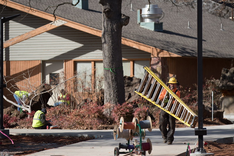 The Oklahoma City Zoo is upgrading the picnic area with new decking and lighting. When complete the area will be available for event rental during the hours the zoo is closed.