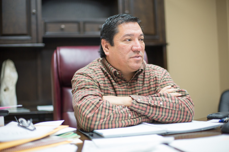 Reggie Wassana is the newly elected Governer of the Cheyenne Arapaho Tribes headquartered in Concho, OK.