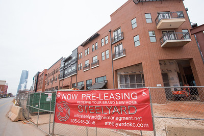 The Steelyard Apartments located on E Sheridan Ave in downtown Oklahoma City.