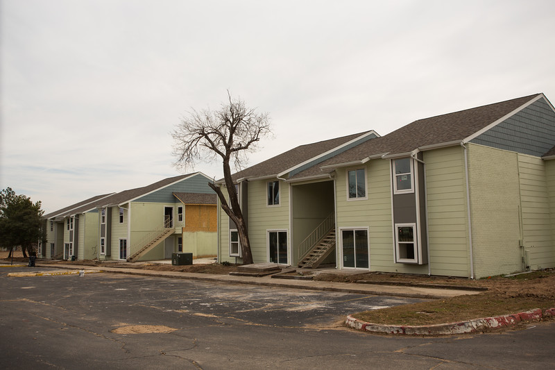 The Latana Apartments, located at 7408 W 10th Street in Oklahoma City, are being renovated at a cost of $1.5 million.