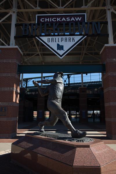 The Chickasaw Bricktown Ballpark in Oklahoma City.