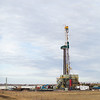 A Cactus Drilling Co. rig on May Ave. northeast of Lindsey, OK.