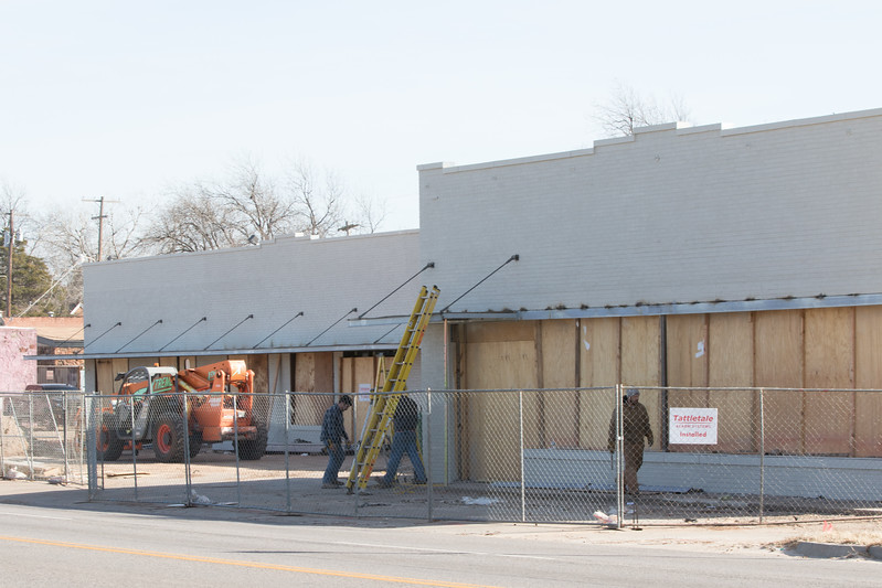 Construction at 1700 E 23rd Street in Oklahoma City, OK.