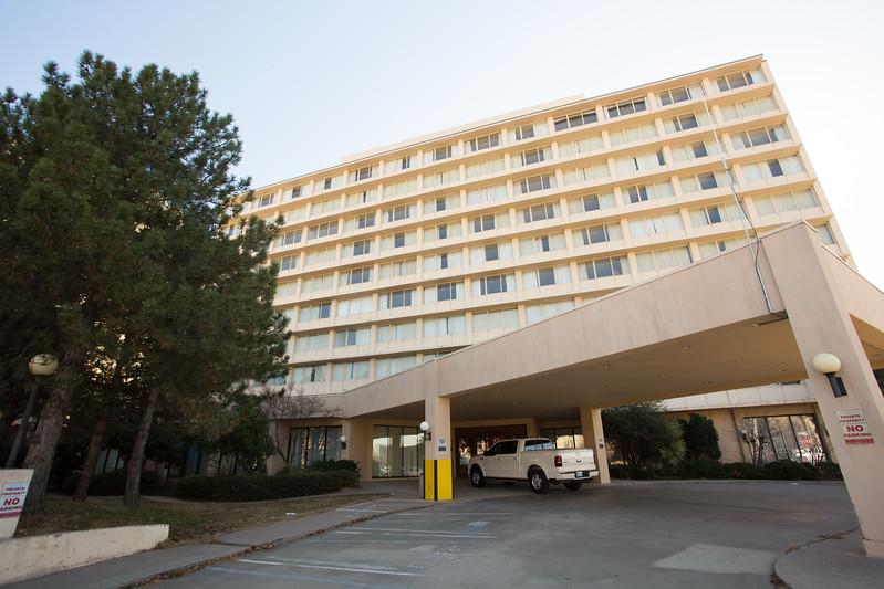 The old hotel building at 520 W Main St in Oklahoma City is going up for sale.