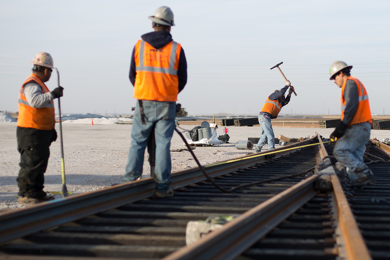 Houston-based Solaris Energy is investing $40M in Kingfisher, OK. The oilfield services company is buliding a new rail spur to accomodate 4-5 new tracks and 400 truckloads-worth of sand daily.