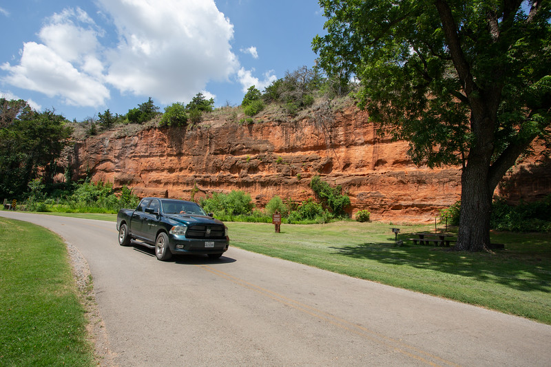 The City of Hinton, OK faces the possibilty of taking control or Red Rock Canyon State park as the State of Oklahoma cuts back on cost.