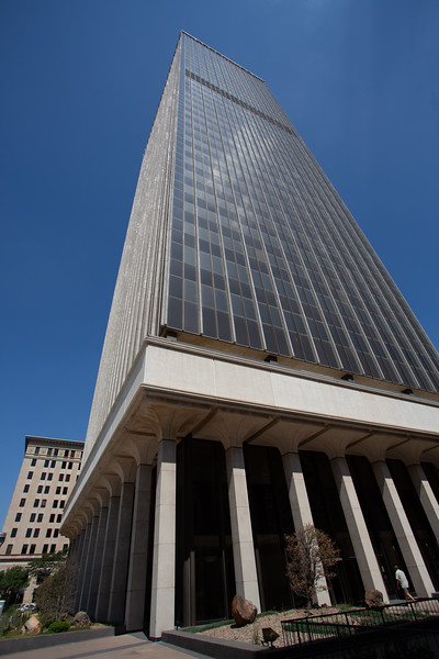 Banc First is purchasing Cotter Ranch Tower located at 100 N Broadway in Oklahoma City.