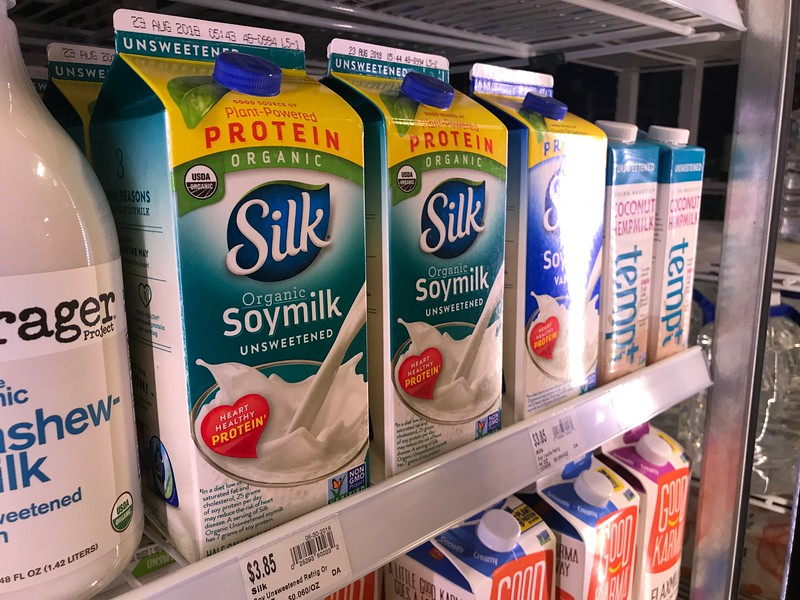 Soy milk at Natural Grocers located at 3325 S Blvd in Edmond, OK.