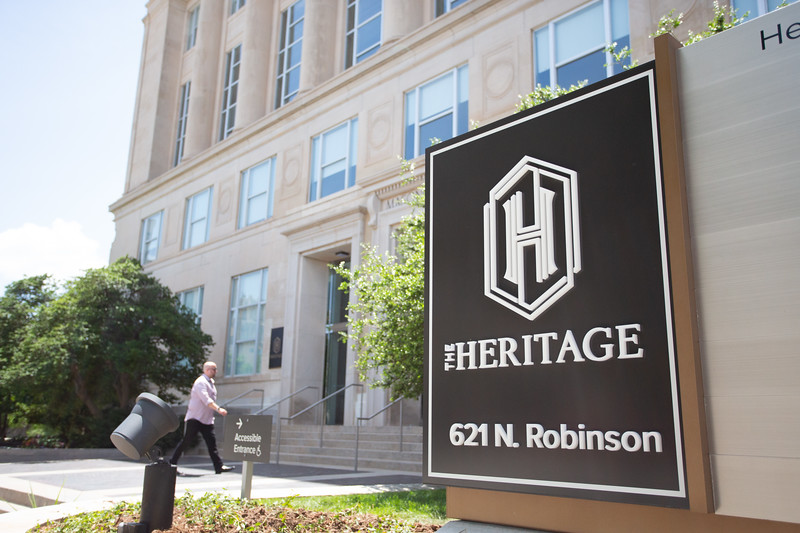 The Heritage located at 621 N Robinson Ave in Oklahoma City, OK.