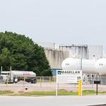 Fuel trucks reloading at the Magellan Midtream Partners  terminal located at 251 N Sunnylane Road in Oklahoma City.