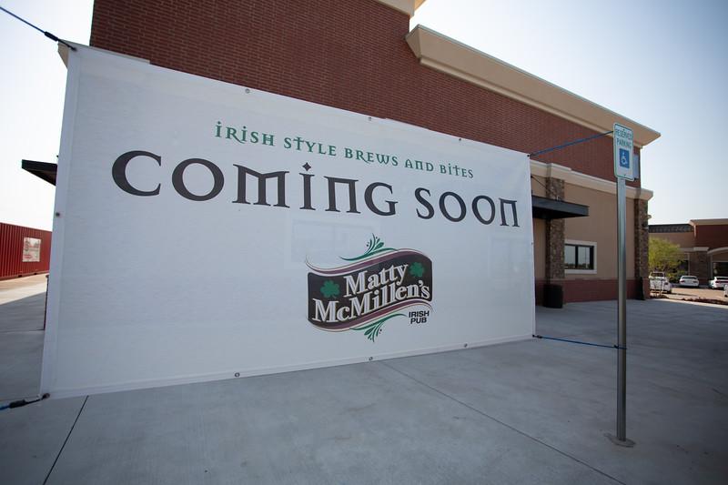 Matty McMilen's Irish Pub is coming to 2201 NW 150th Street in Edmond, OK.