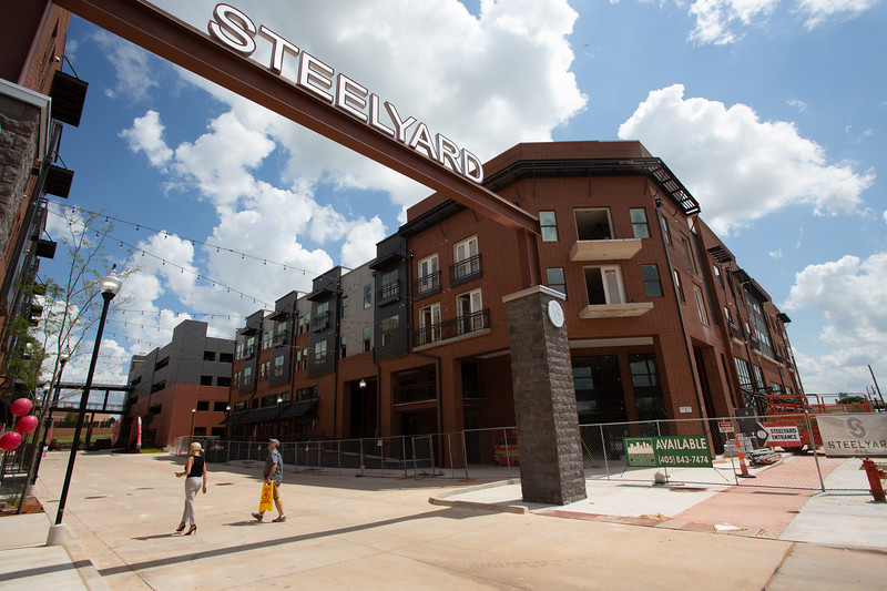 Steelyard Apartments locaed at 505 E Sheridan Ave in Oklahoma City, OK.