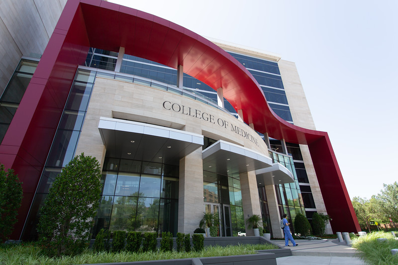 THe OU College of Medicine located at 800 Staton L Young Blvd in Oklahoma City, OK.