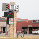 Choctaw Travel Stop located at Exit 55 on I-35 near Davis, OK.
