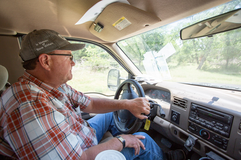 Land owner David Griesel is fighting a new disposal well that has been proposed less than one mile from his land at Britton Ave and Highway Ave in El Reno, OK.