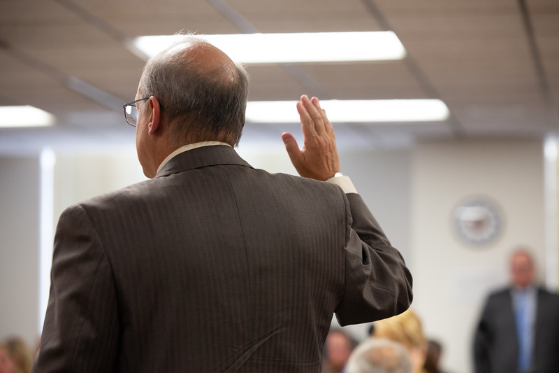 Stephen Fate, Vice-President of Regulatory and Finance with PSO, took the stand at the Oklahoma Corporation Commision.