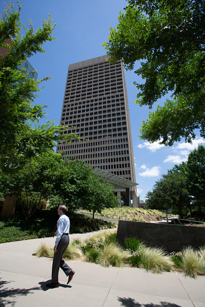 Sandridge Energy located at 123 Robert S Kerr Drive in downtown Oklahoma City, OK.