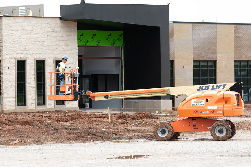 Construction at Moore-Norman Technology Center located at 4701 12th Ave NW in Norman, OK.