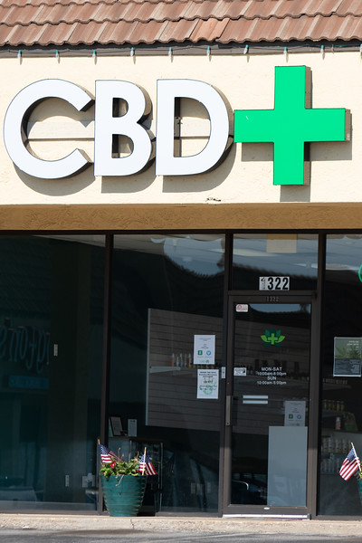 CBD Plus located at 1322 W Danforth Rd in Edmond, OK.