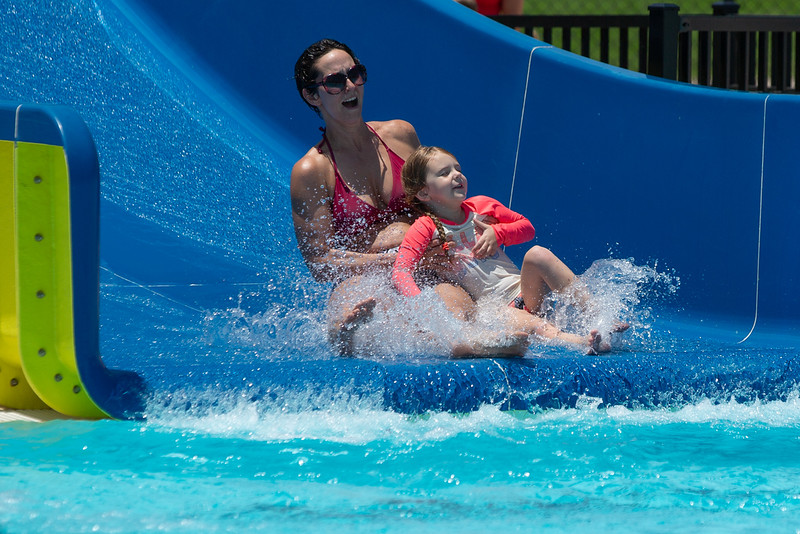 The new Westwood Water Park located at 2400 Westport Drive in Norman, OK.