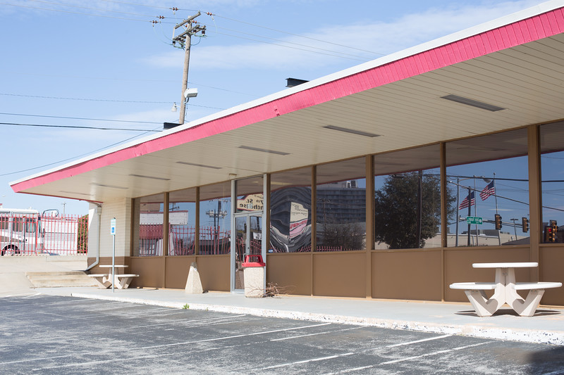 The former location of Russel Stover's Candy at 5704 N May Ave in Oklahoma City, OK.