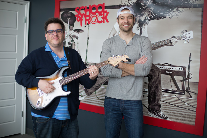 Ted Kuchel and Brandon Birdwell just opened their second School of Rock location at 7200 N May Ave in Oklahoma City.