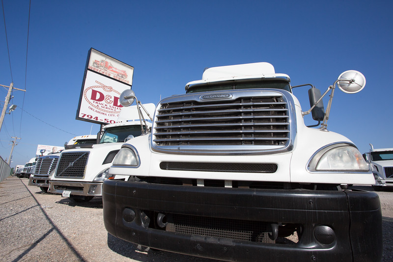 Trucks for sale at D and D Trucks Sales and Service located at 3409 E Interstate 240 Service Rd in Oklahoma City.
