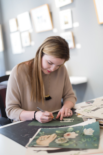 Marissa Raglin is the current Artist in Residence at the Skirvin Hotel in downtown Oklahoma City.