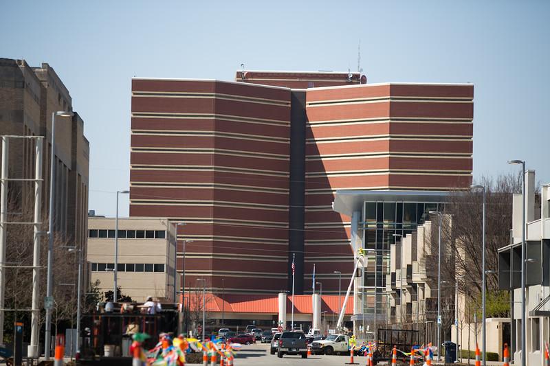 The Oklahoma County Jail in Oklahoma City, OK.