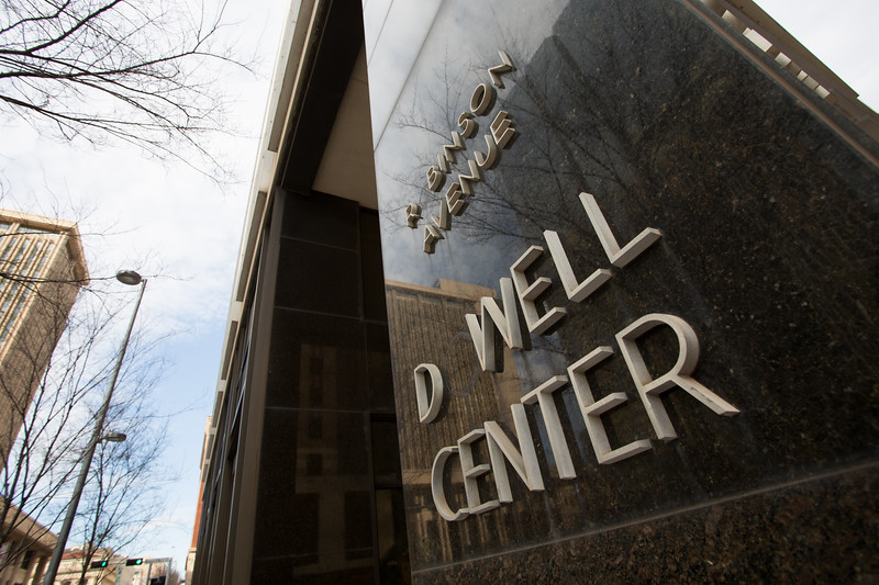 The Dowell Center located at Robinson Ave and Couch Drive in Oklahoma City.