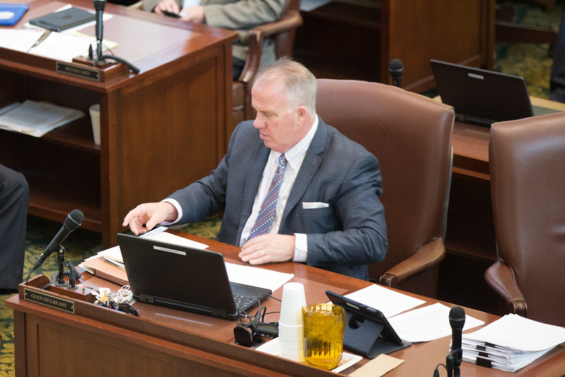 Oklahoma State Repersenitive Glen Mulready filed a series of bills that overlap with parts Gov. Mary Falin's executive order on Medicaid work requirements.