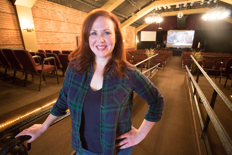 Kim Haywood, Executive Director of Rodeo Cinema located in at 2221 Exchange Ave in Oklahoma City.
