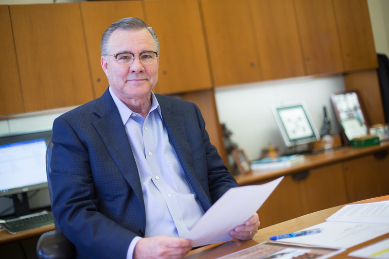 Brad Swickey, President of Valliance Bank located at 1601 Northwest Expressway in Oklahoma CIty.