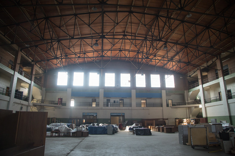 The State of Oklahoma is interested in selling the old armory building located 200 NE 23rd Street in Oklahoma City.