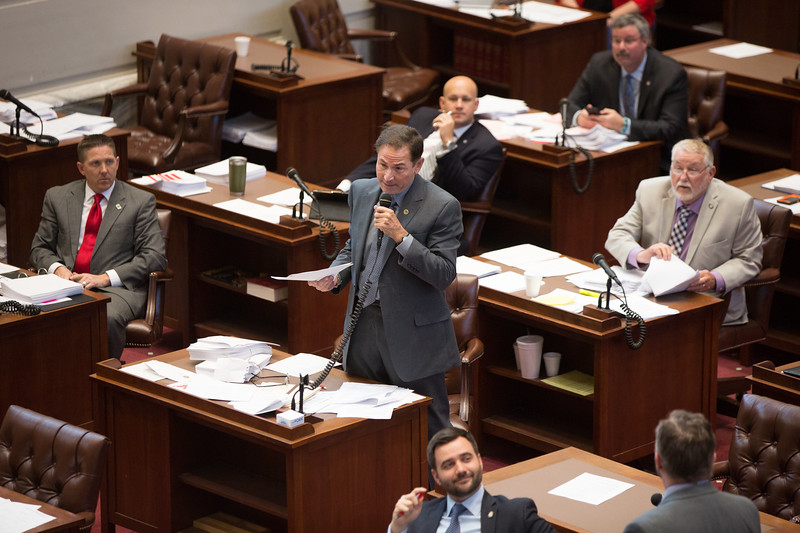 The Oklahoma State Senate passed a bill that would chage rates on capitol gains tax.