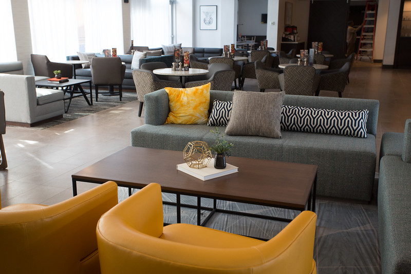 The new Hyatt Place hotel located at 20 Russell M Perry Ave in Oklahoma City.